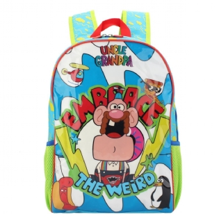 Mochila de costas escolar infantil Titio Avô  Cartoon Network DMW 49128