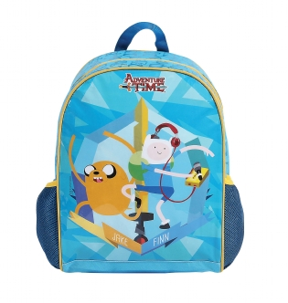 Mochila de costas escolar infantil Hora da Aventura Cartoon Network 49027